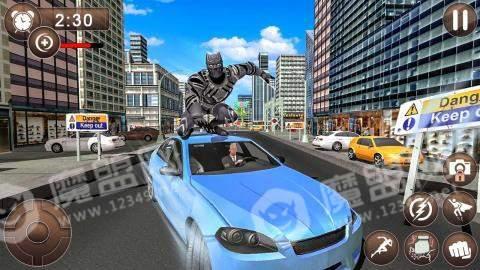 黑豹超级英雄犯罪城市之战