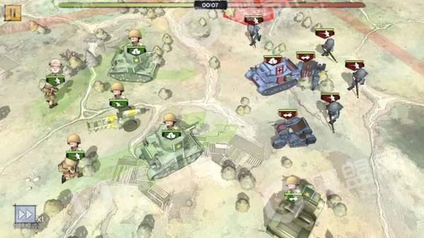 战争与征服测试服