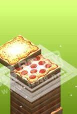 披萨堆叠塔