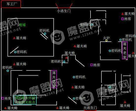 第五人格地图平面图及建筑分布详情一览