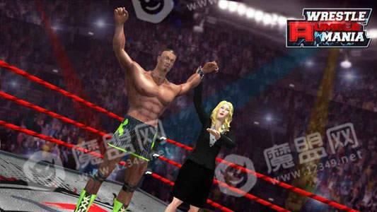 WWE狂暴摔跤