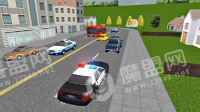 美国警车城市模拟