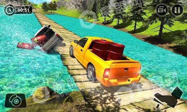 皮卡车驾驶模拟器