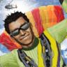 空中特技飞机跳伞