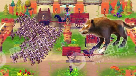 城堡之王对战