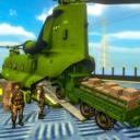 美国军用货运卡车