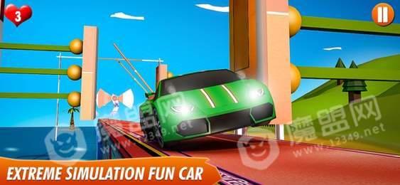 快乐趣味赛车3d高峰苹果版
