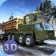 冬季伐木卡车模拟器