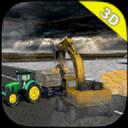 挖土机救援