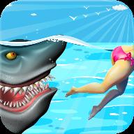 砸到刺鲨鱼模拟器