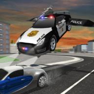飞车追逐驾驶模拟警车