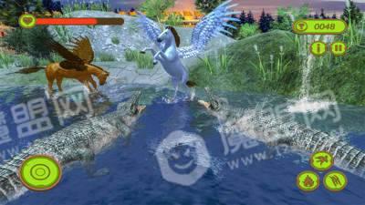 飞行独角兽模拟器