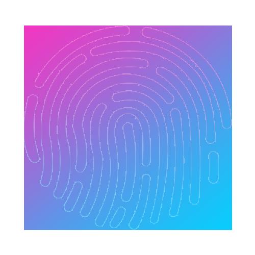 模擬屏幕指紋