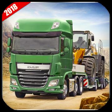 新货运卡车司机模拟器