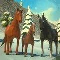 低模野馬家族模擬器