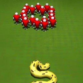 长蛇盘绕游戏安卓版