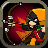 王國防御弓箭手和魔法