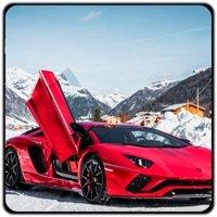 蘭博基尼汽車雪地賽車