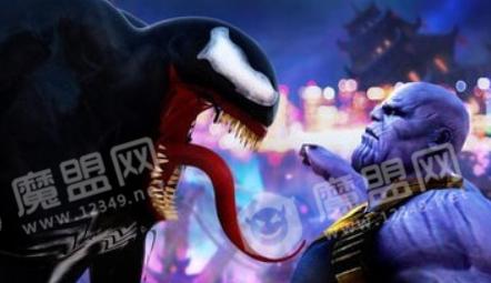 黃蜘蛛英雄vs毒液