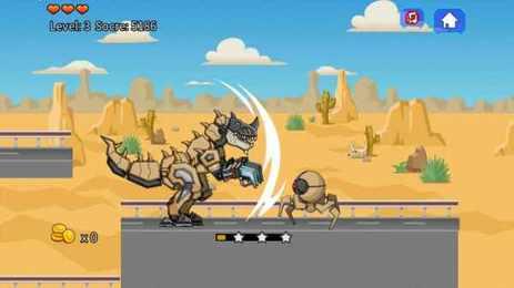 沙漠霸王龙大战