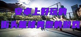 安卓上好玩的街头篮球类型的威尼斯人真人棋牌_游戏