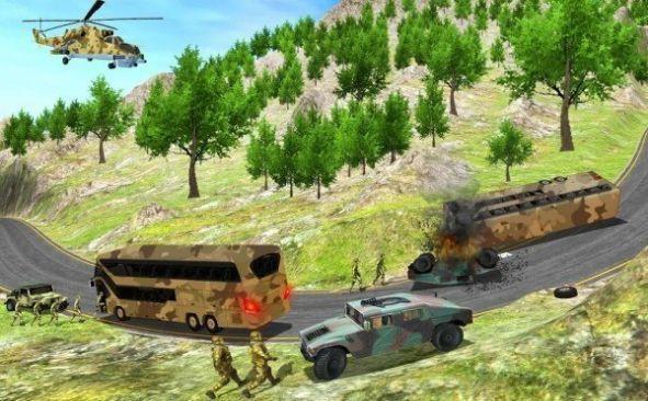 陆军大本营卡车